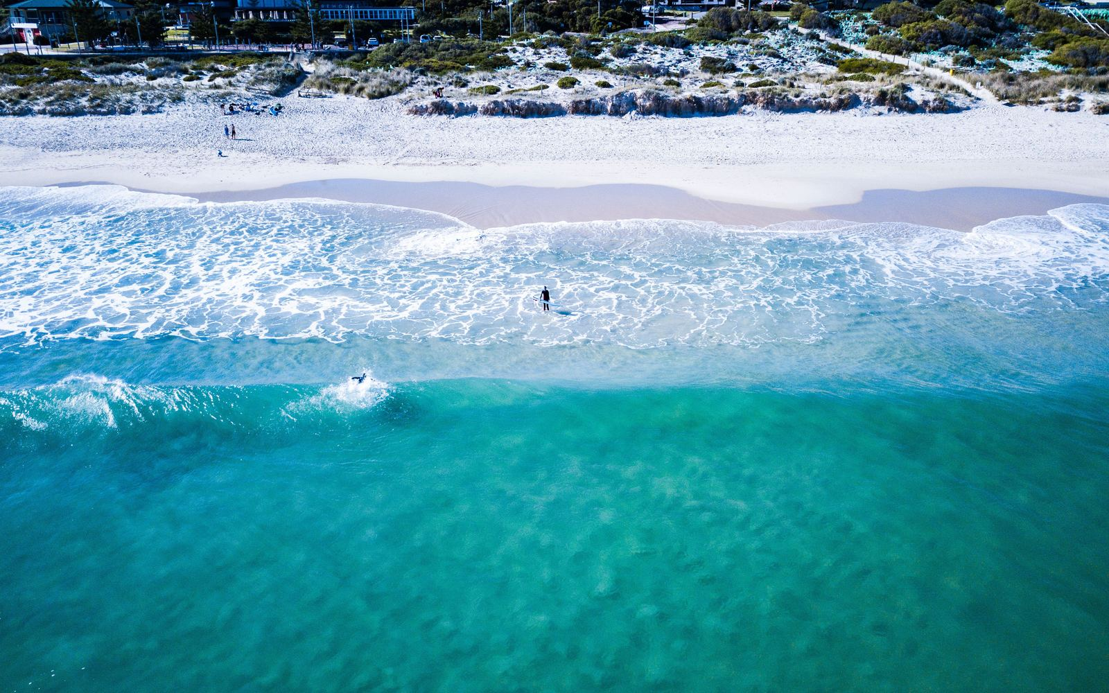 Beautiful beach of Perth