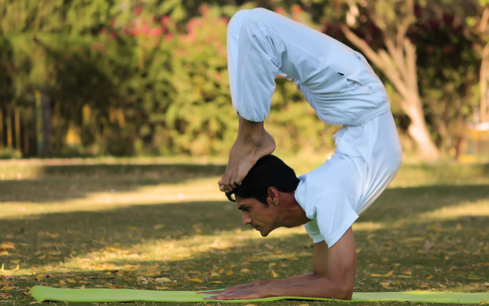 Yoga helps the body to relax and unwind