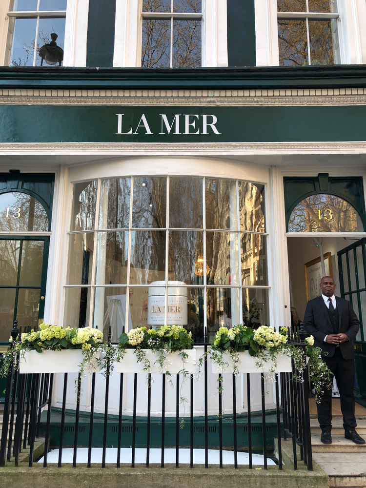 La Mer Georgian House Pop up