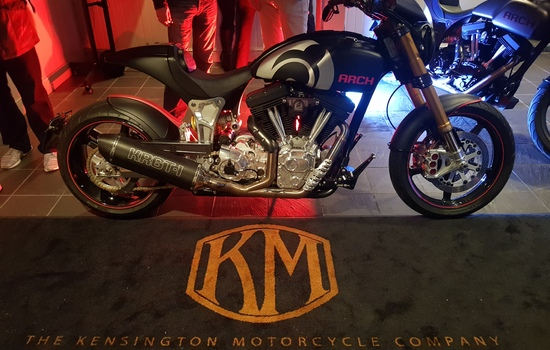 LA's Arch Motorcycle Launches in London