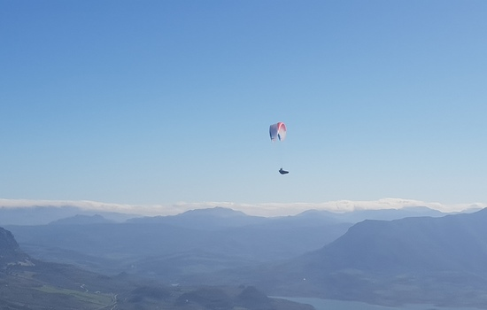 A lightbulb moment.. Paragliding!